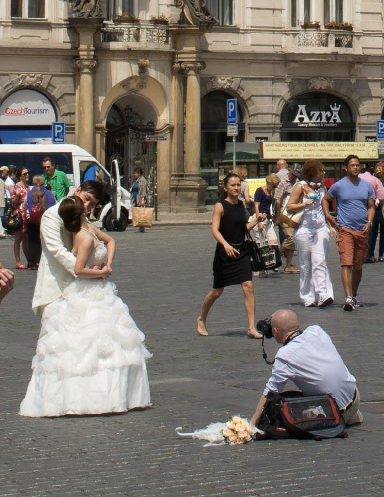Fotografo casamentos - Praga