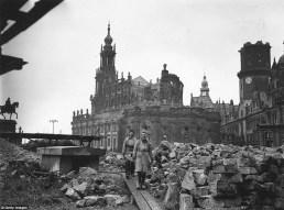 Centro histórico de Dresden 1945