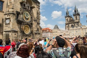 Relógio astronômico de Praga 2014