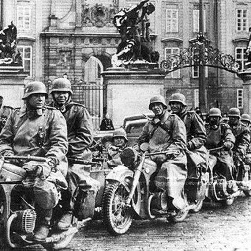 Castelo de Praga 1945
