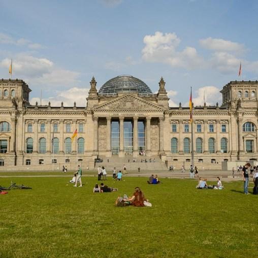 Reichstag Berlim 2014