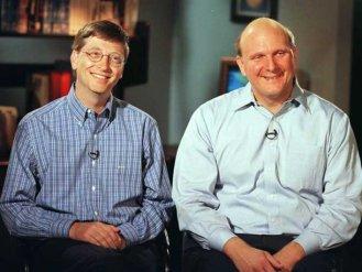 Steve Balmer e Bill Gates