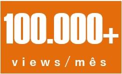 100.000 views/mês