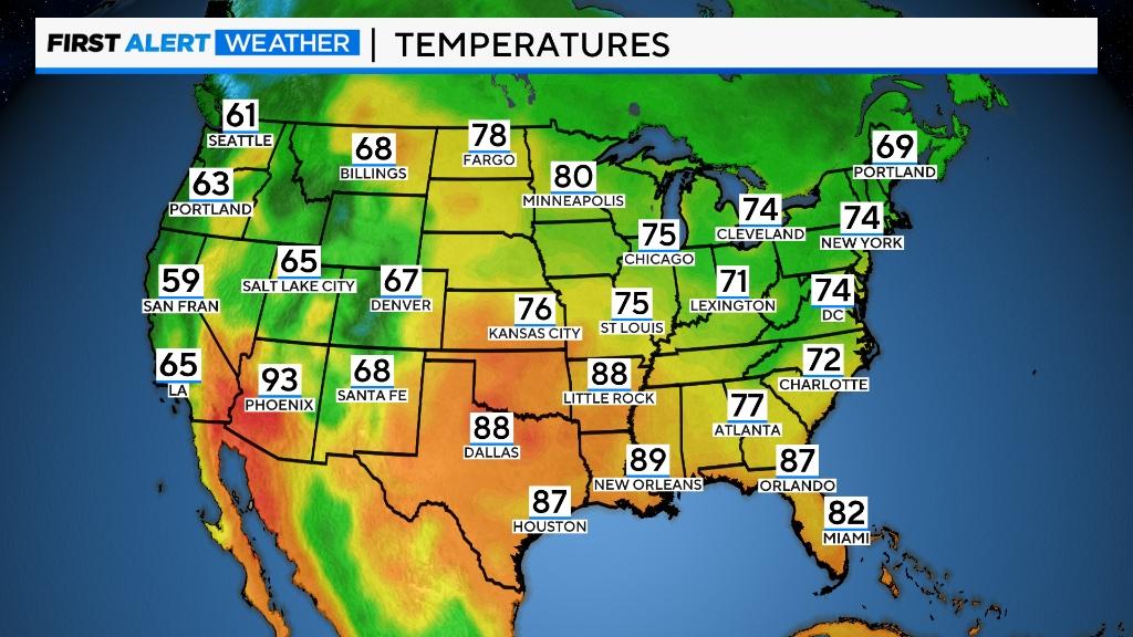 National Temps Full National Temperatures