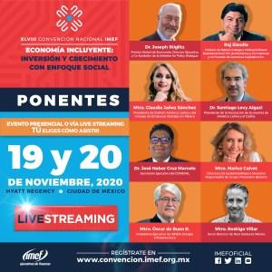 PONENTES CONVENCION IMEF 2020