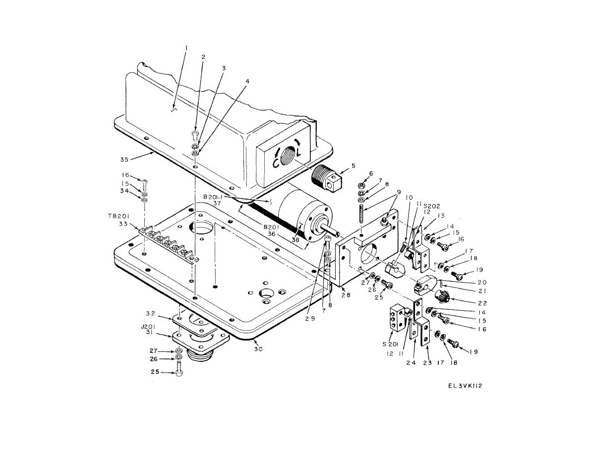 Figure 71. Elevation Antenna AS-1080/FPN-40,Actuator