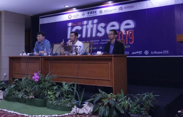 ICITISEE 2019 Menginspirasi dan Memotivasi Perkembangan Ilmu Pengetahuan dan Teknologi