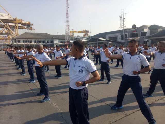 Personel Kolinlamil Wajib Beladiri Karate