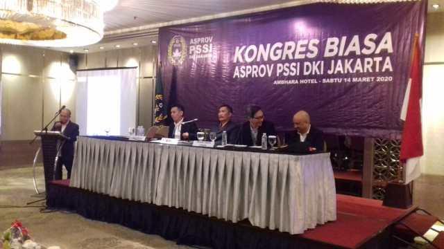 Hasil Kongres Biasa Asprov PSSI DKI Jakarta Akan Gelar Kompetisi Usia Dini