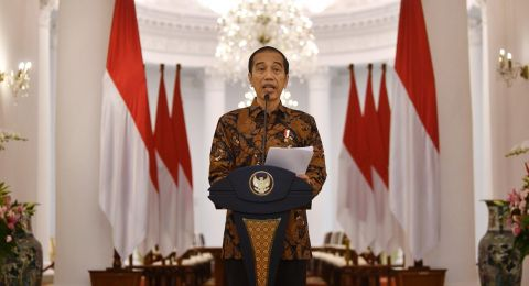 Presiden Jokowi Teken Keppres Penetapan Status Kedaruratan Kesehatan Masyarakat