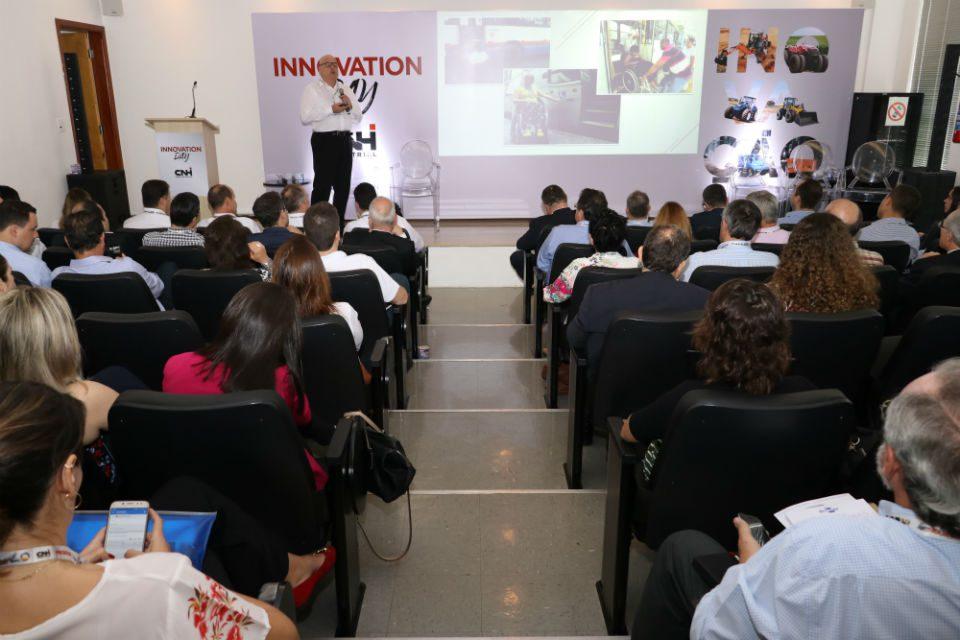 CNH Industrial reforça o papel estratégico da inovação no cenário de integração de máquinas e tecnologias digitais - foto: Fernando Rezende