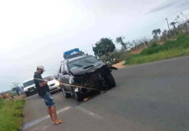 Prefeito de Caetité Aldo Gondim e motorista sofrem acidente na BR ...