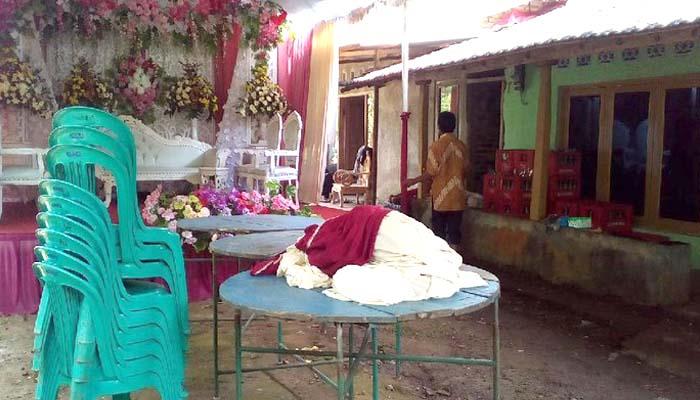 Pesta Batal, Calon Pengantin Wanita Kritis Keracunan Jamu
