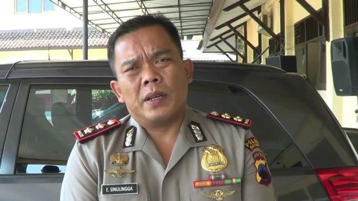 Kapolres Batang AKBP Edi Suranta Sinulingga