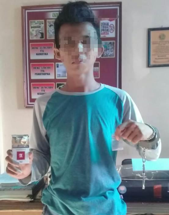 Lagi, Penjual Sabu Sembunyikan 'Dagangnya' di Bungkus Rokok
