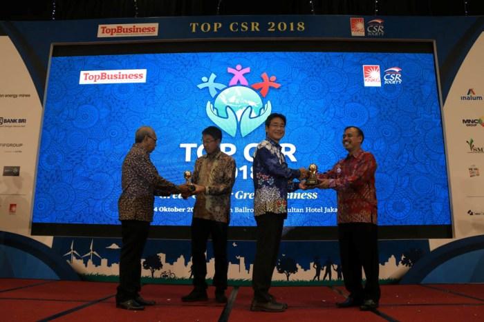 Lagi, BPI Sabet Dua Penghargaan TOP CSR Award 2018