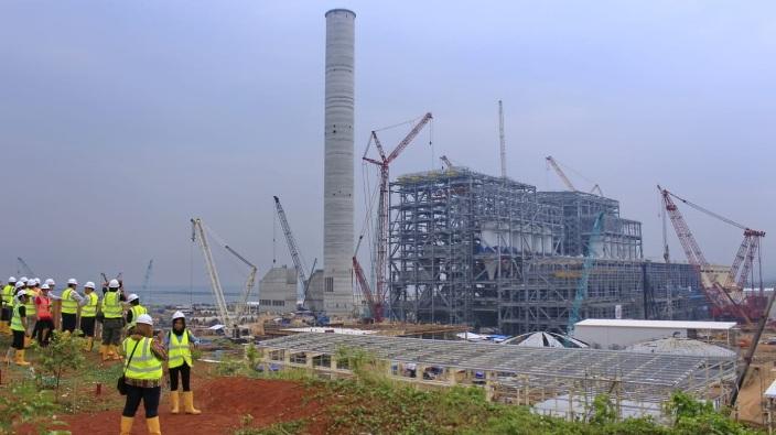 Pembangunan PLTU Batang Serap 8.963 Tenaga Kerja
