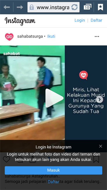 Video Viral Pengeroyokan Guru
