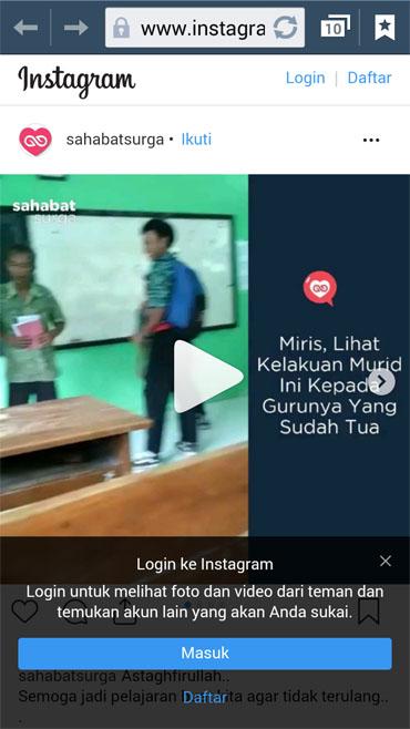 Video Viral Pengeroyokan Guru