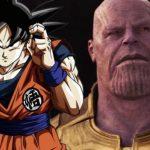 Fãs criam crossover entre Goku e Thanos espetacular
