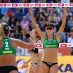 Duplas brasileiras vencem e vão às oitavas de final na etapa de Itapema