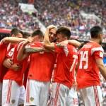 Rússia encera jejum e abre Copa com goleada sobre a Arábia Saudita