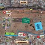 Veja as alterações no trânsito durante o aniversário de Taguatinga