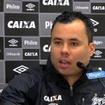 Coletiva do técnico Jair Ventura após empate do Santos no clássico