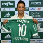 Barrios, aposta do Colo-Colo contra o Corinthians, tem história no Palmeiras