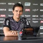 """Larghi sobre empate do Atlético-MG: """"Claro que ficamos chateados"""""""