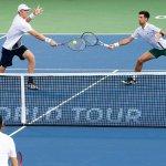 Estreando parceria, Djokovic e Anderson vencem nas duplas em Toronto