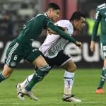 Colo-Colo x Palmeiras pela Libertadores: veja fotos