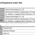Smartphone misterioso da Huawei ganha certificação