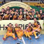 Sorocaba vence Carlos Barbosa e conquista o bi mundial de futsal
