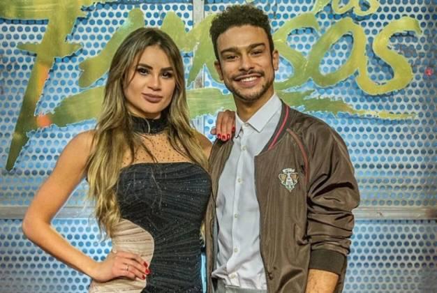 Natacha Horana e Sérgio Malheiros /TV Globo