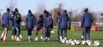Seleção Feminina faz primeiro treino na Filadélfia