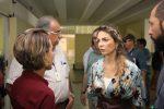 Paula Belmonte visita HRG e Centro de Ensino Gesner Teixeira