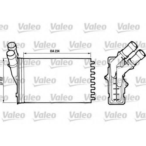 Купить радиатор печки (отопителя) PEUGEOT PARTNER, 306