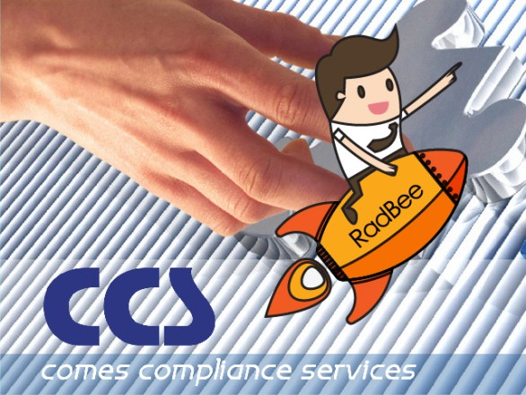 new collaboration between RadBee and Comes Compliance Services