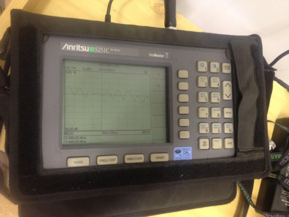 Měření kontroly kvality signálu