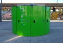 Die veloeasy-Box in Berlin Lichtenberg