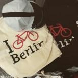 I bike Berlin! Die Kappe begleitete mich das ganze Wochenende.