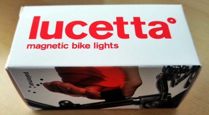 Produkttest: Lucetta Magnetic Bike Light (sponsored post)