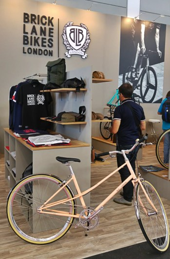 Brick Lane Bikes booth