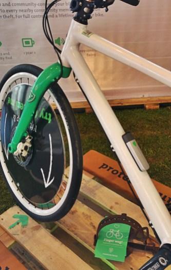 Fahrradjäger Detail