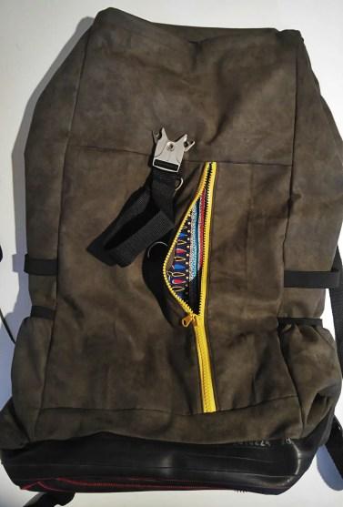 Radelmädchen näht: Der neue Rucksack, Prototyp No. 1