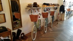 Nice bikes, nice hats.