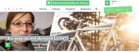 Header zum Deutschlandfunk Interview im Februar