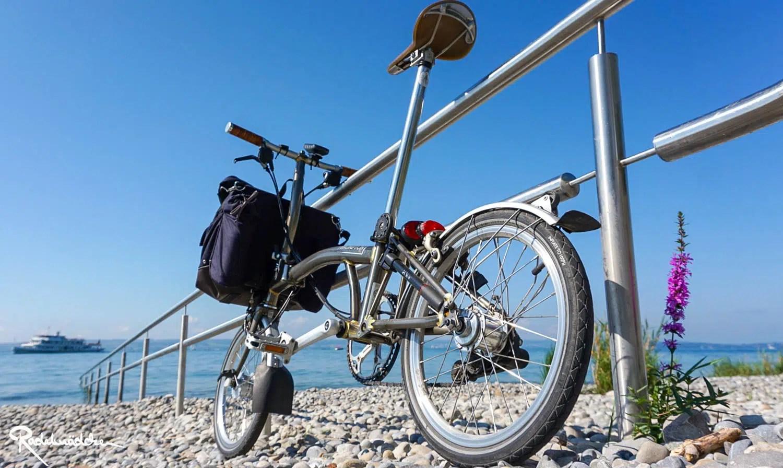 Faltrad Brompton am Bodensee