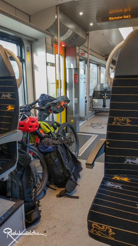 regionalzug Fahrradbereich